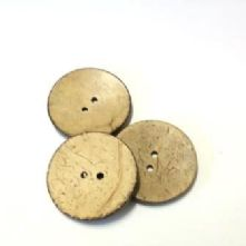 Coconut Shell Buttons Large